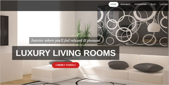 Luxury House Joomla Template