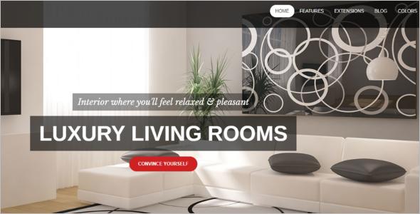 Luxury House Joomla Template