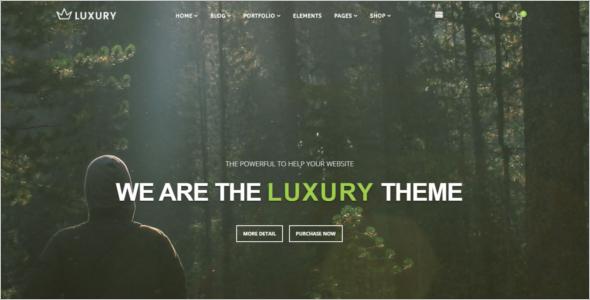 Luxury Joomla Template