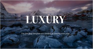 Luxury Joomla Templates