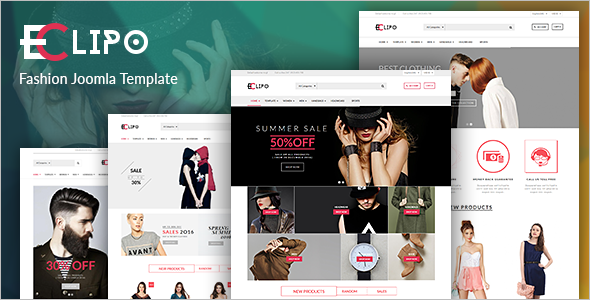Luxury Joomla Theme