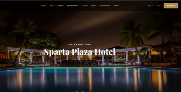 Luxury Resorts Joomla Template