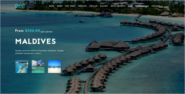 Luxury Travel Joomla Template
