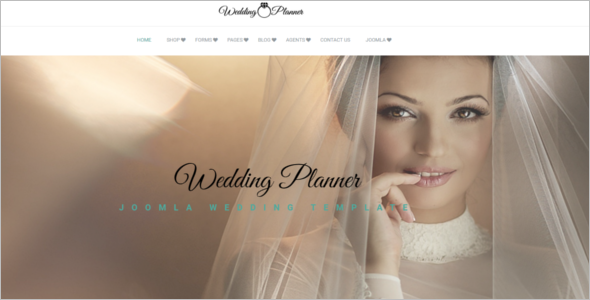 Luxury Wedding Joomla Template