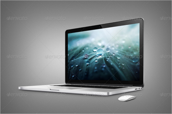 MacBook Air Mockup