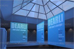 Mall Poster Mockup Design