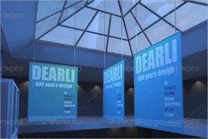 Mall Poster Mockup Design