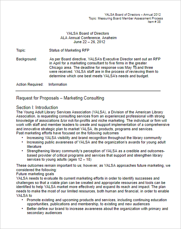 46 Free Grant Proposal Templates Word Pdfsamples Formats