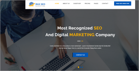 Marketing Website Google Theme