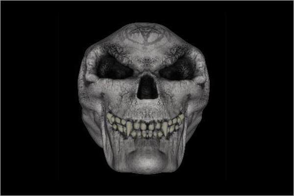 Mask Type Skull Free Design