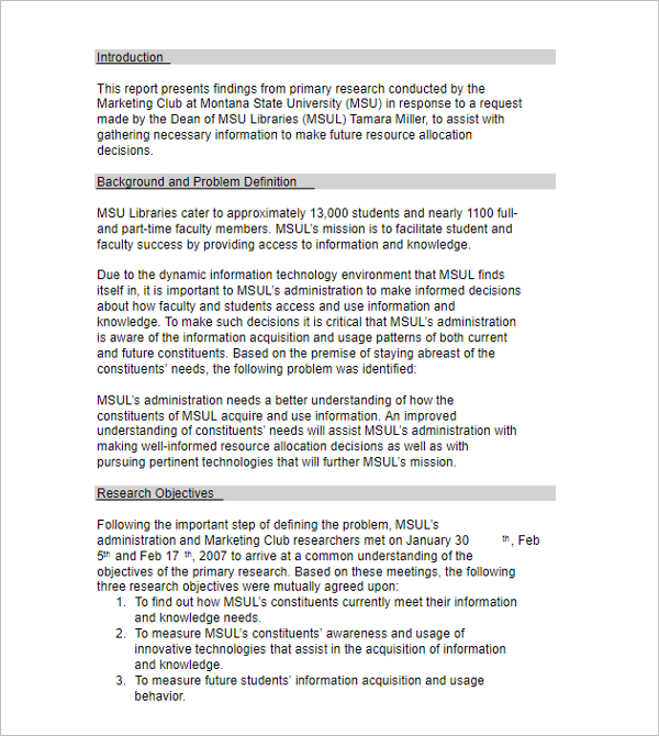 27+ Research Proposal Templates Free Word, PDF Format Examples