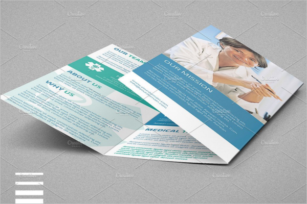 Medical A4 Trifold Brochure Design