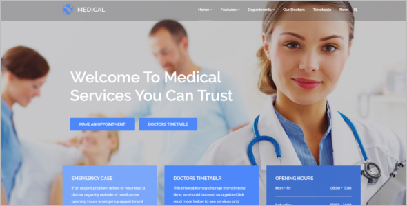 Medical HTML5 Template