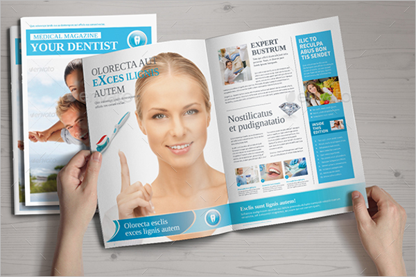 Medical Newsletter Brochure Template