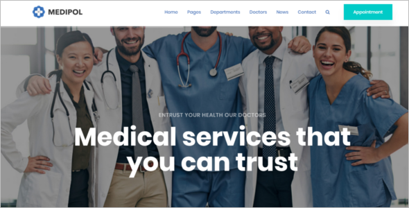 Medical Service HTML Template