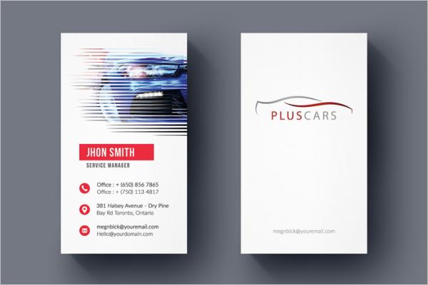 Mega Car Business Card Template