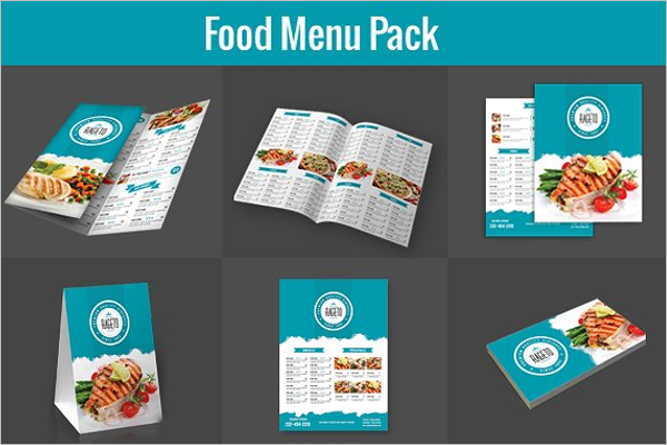 Menu Card Design Pack