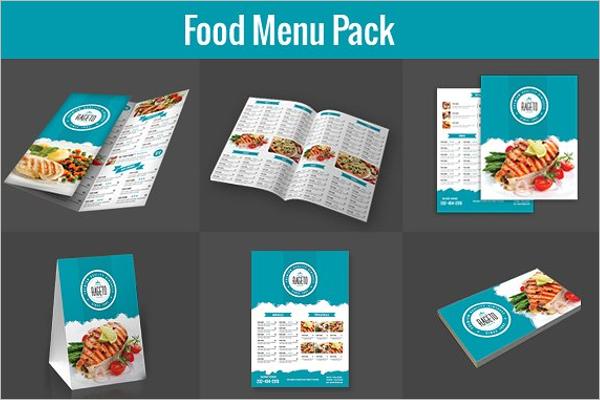 Menu Card Design Pack
