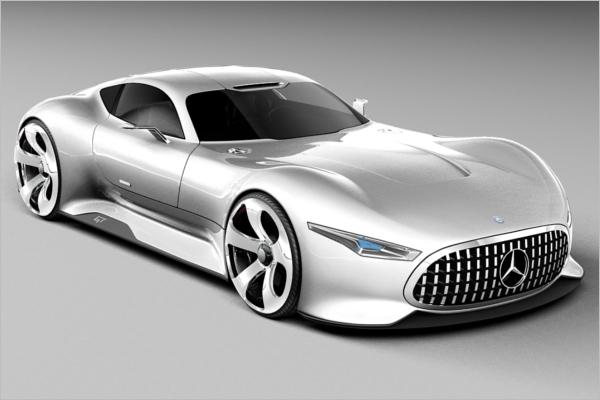 Mercedes Benz 3D Design