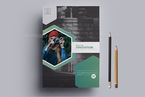 Microsoft Word A4 Brochure Template