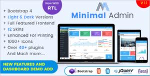 Minimal Admin HTML5 Template