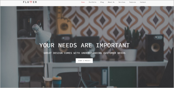 Minimal Business HTML5 Template