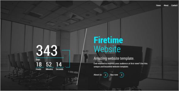 Minimal Coming Soon HTML5 Template