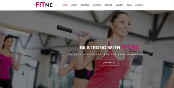 Minimal Gym HTML5 Template
