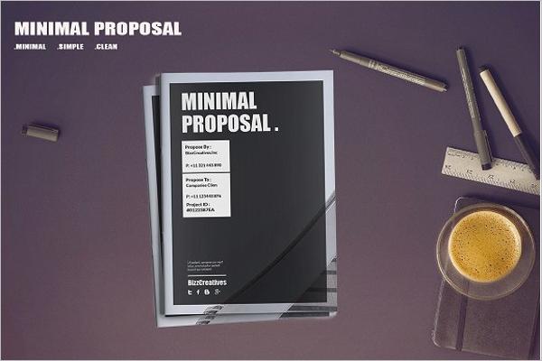 Minimal Proposal Template PDF