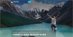Minimal Travel Joomla Template
