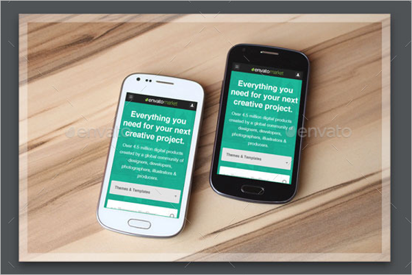 Mobile Devices Mockup Design