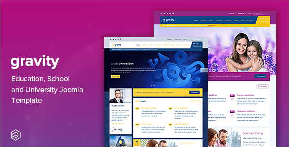 Mobile Friendly Education Joomla Theme