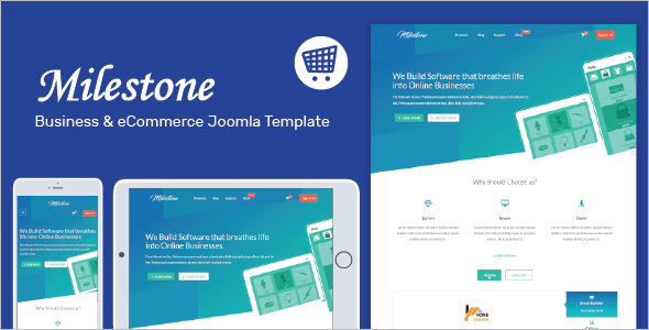 Mobile Friendly Joomla Theme