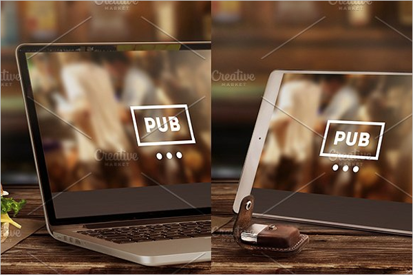 Mock-Up Laptop & Tablet