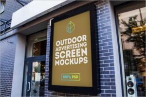 Mockup Free Outdoor Design