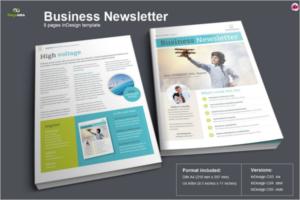 Modern Brochure Newsletter Design
