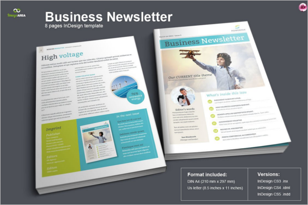 Modern Brochure Newsletter Design