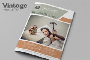 Modern Brochure Newsletter Free Design