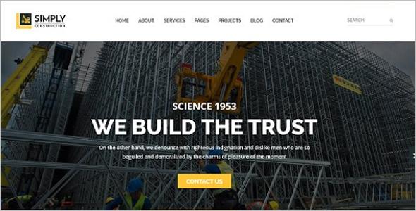 Modern Construction HTML5 Template