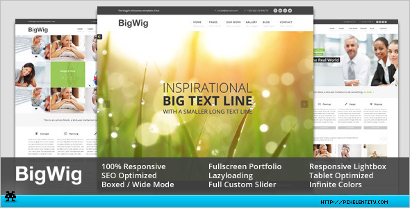 Modern Corporate HTML5 Template