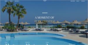 Modern Hotel Website Template