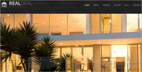 Modern Real Estate Agency Joomla Template