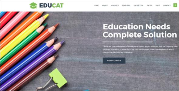 Modern School HTML Template