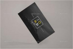 Modern Visiting Cards Mockup Template