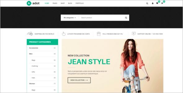 Modern eCommerce Joomla Template