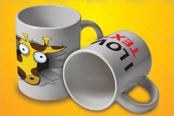 Mug Logo Mockup