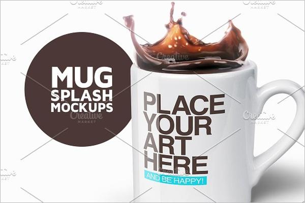 Mug Splash Mockups