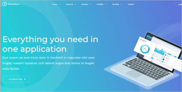 Multi Page Business HTML5 Template