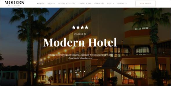 Multi Page Hotel Website Template