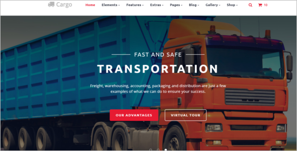 Multi Page Transportation HTML5 Template